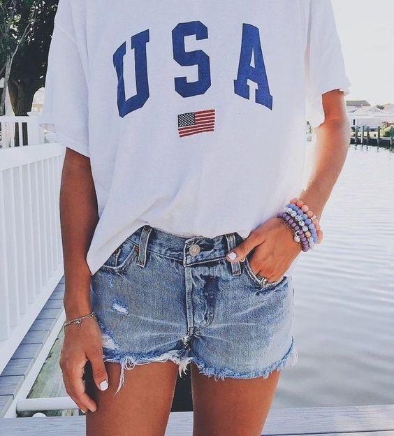 26 Amerikan tarzı Kızlar için Kıyafet Fikirleri 2