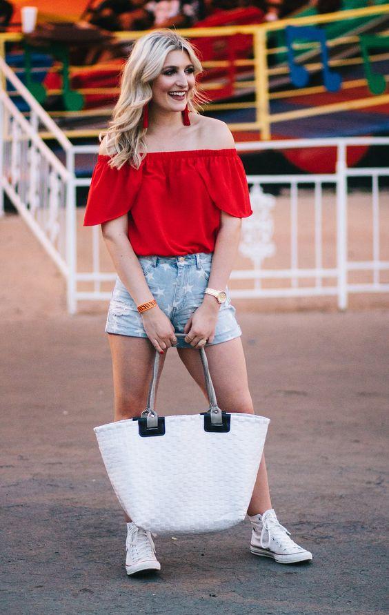 26 Amerikan tarzı Kızlar için Kıyafet Fikirleri 23