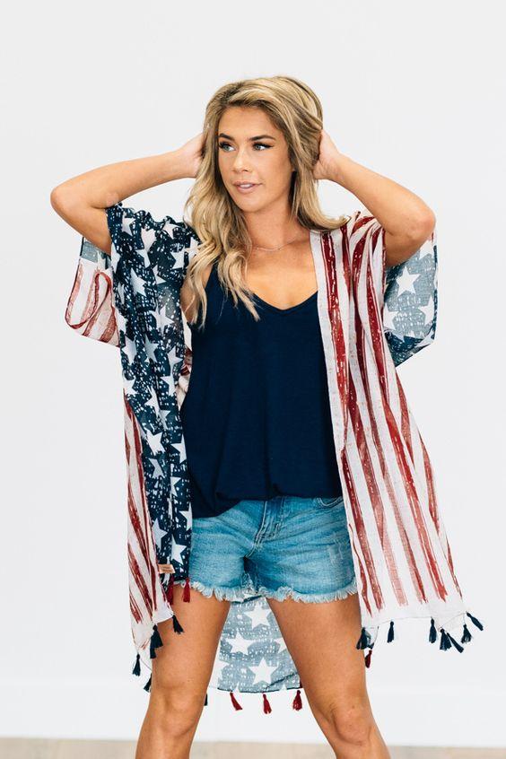 26 Amerikan tarzı Kızlar için Kıyafet Fikirleri 7