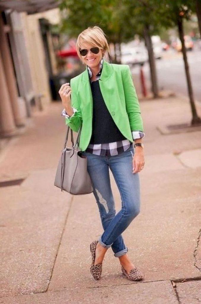 40 yaş üstü kadınlar için 25 şık yazlık kıyafet 16