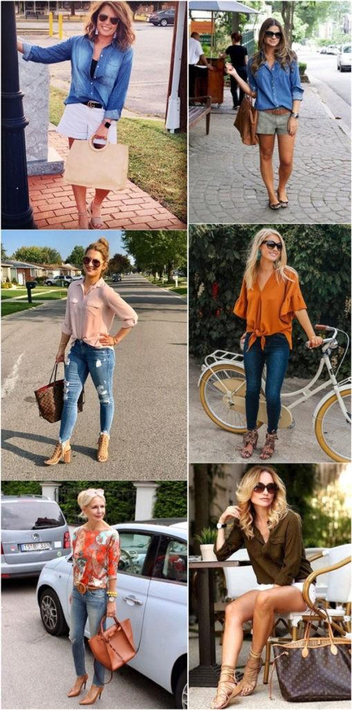 40 yaş üstü kadınlar için 25 şık yazlık kıyafet 20