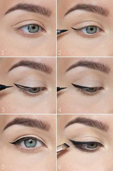 Denemeniz gereken eyeliner fikirleri ipuçları 1