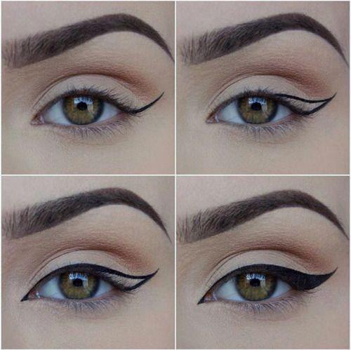 Denemeniz gereken eyeliner fikirleri ipuçları 3