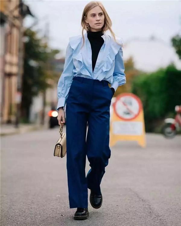 Günlük Giyim için 19 Klasik Mavi temalı kombin Fikirleri 1