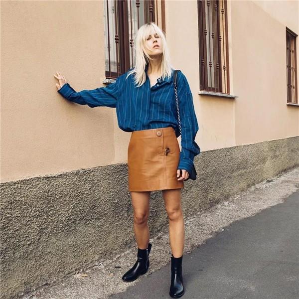 Günlük Giyim için 19 Klasik Mavi temalı kombin Fikirleri 3