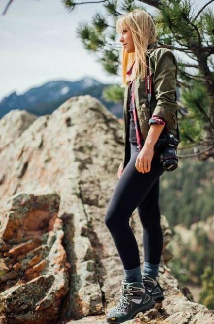 Harika 27 Kadın Yürüyüş Kıyafetleri 5
