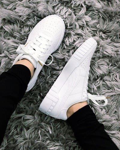 Her Durum için Rahat Beyaz Spor Ayakkabı modelleri 14