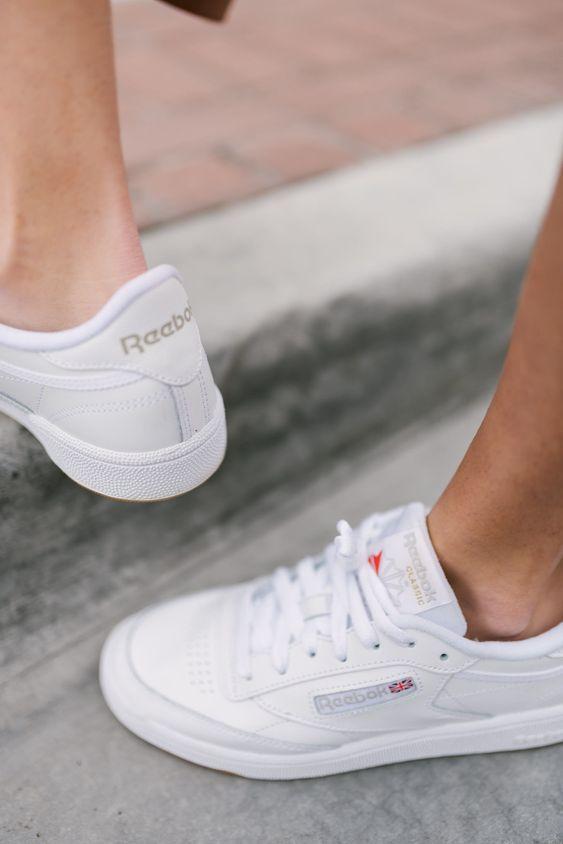 Her Durum için Rahat Beyaz Spor Ayakkabı modelleri 15
