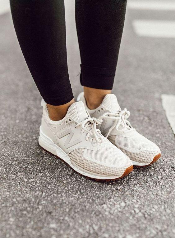 Her Durum için Rahat Beyaz Spor Ayakkabı modelleri 22