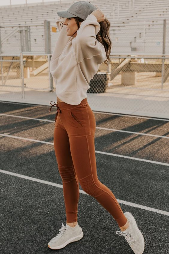 Her Mevsim Tayt ile Rahat Kıyafetler Fikirler 10
