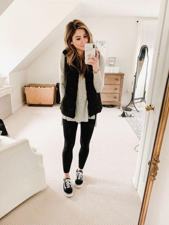Her Mevsim Tayt ile Rahat Kıyafetler Fikirler 18