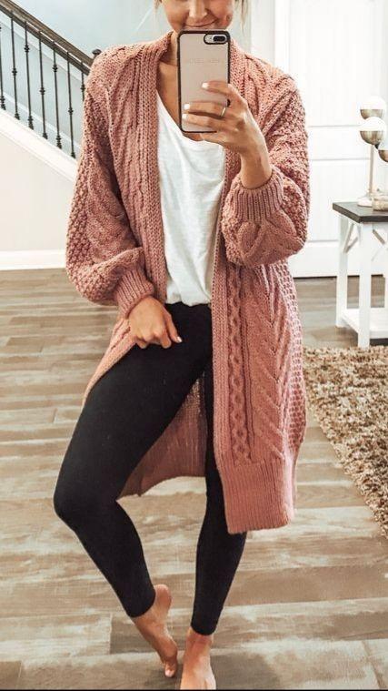 Her Mevsim Tayt ile Rahat Kıyafetler Fikirler 25