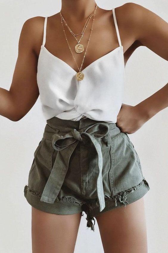 Kaçırmayacağınız 30 Çarpıcı Yaz Kıyafeti Fikirleri 29