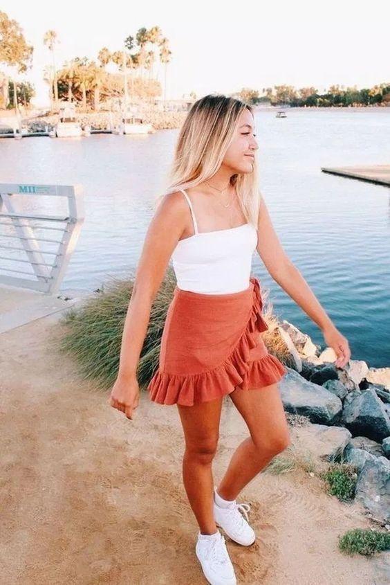 Kaçırmayacağınız 30 Çarpıcı Yaz Kıyafeti Fikirleri 31