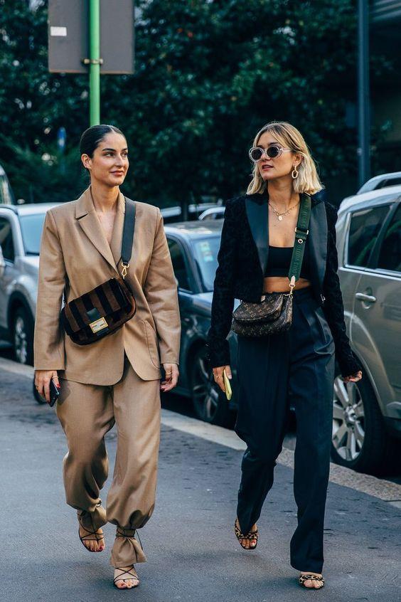Moda Haftası 2020den İlham Verici Sokak Stilleri 15