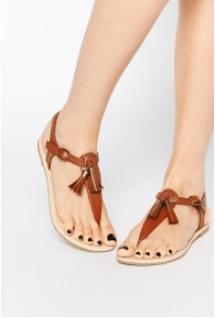 Nötr Renk Sandalet 2