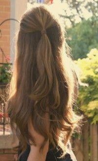 Okul için Sevimli ve Kolay Uzun Saç Modelleri 19