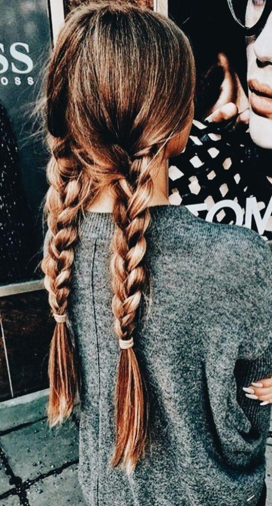 Okul için Sevimli ve Kolay Uzun Saç Modelleri 6