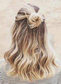 Okul için Sevimli ve Kolay Uzun Saç Modelleri 7