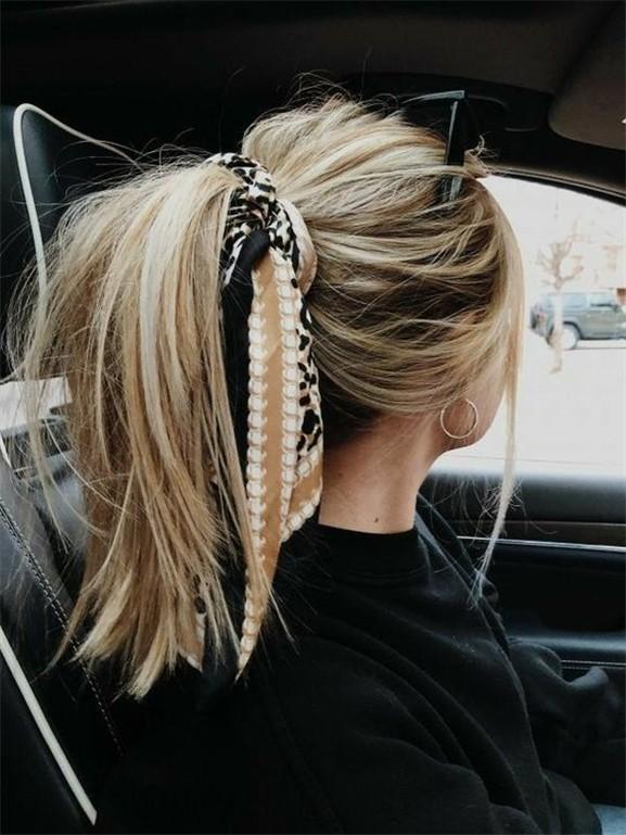 Saç Stilinizi aksesuarla Şekillendirmenin Etkileyici Yolları 19