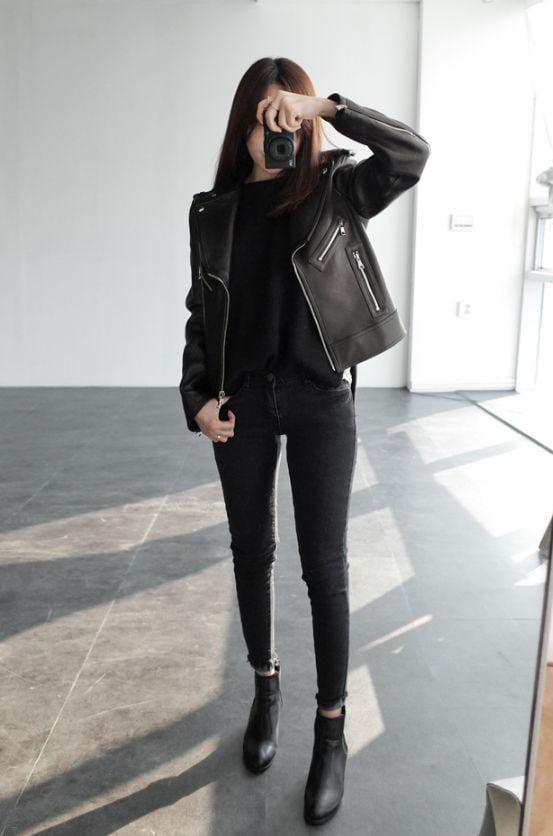 Sahip Olmanız Gereken 25 Klas Siyah Kıyafetler 12