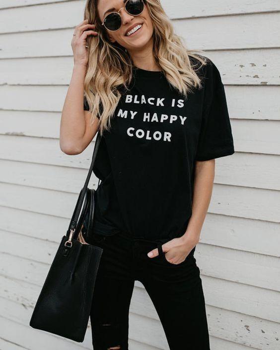 Sahip Olmanız Gereken 25 Klas Siyah Kıyafetler 14