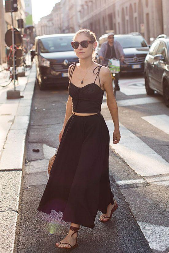 Sahip Olmanız Gereken 25 Klas Siyah Kıyafetler 16