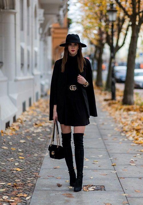 Sahip Olmanız Gereken 25 Klas Siyah Kıyafetler 20