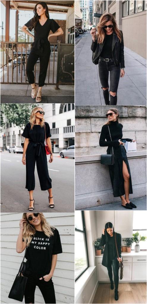 Sahip Olmanız Gereken 25 Klas Siyah Kıyafetler 23