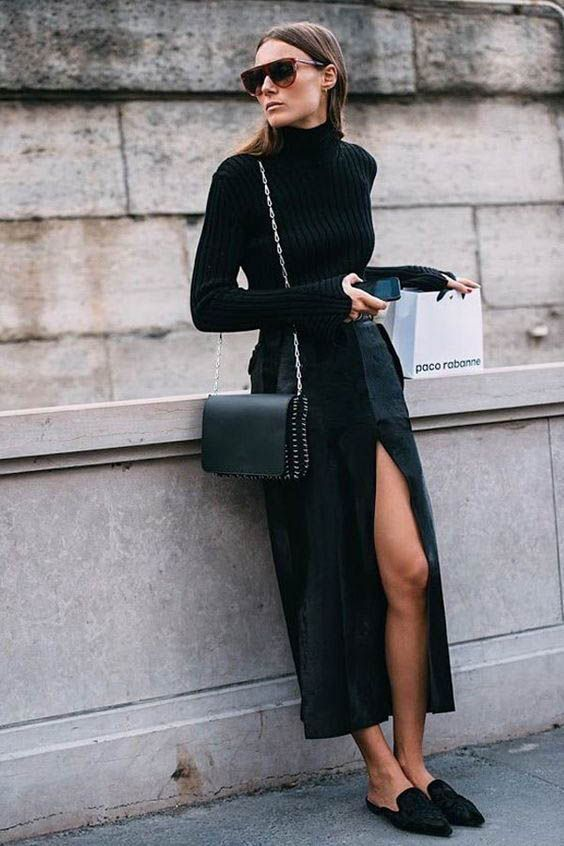 Sahip Olmanız Gereken 25 Klas Siyah Kıyafetler 5