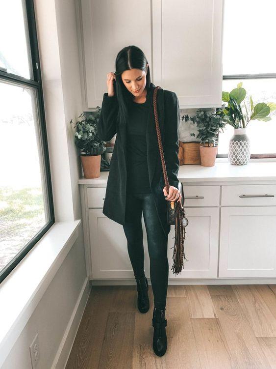 Sahip Olmanız Gereken 25 Klas Siyah Kıyafetler 6