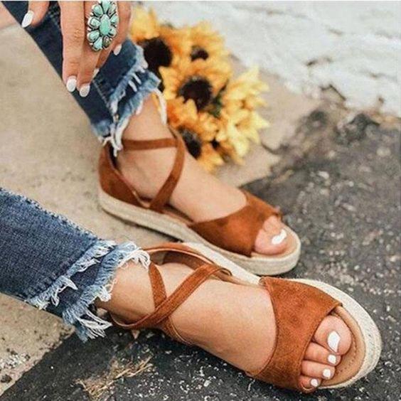 Sahip Olmaya Değer 28 Konforlu ve Şık Yaz Sandaletleri 26