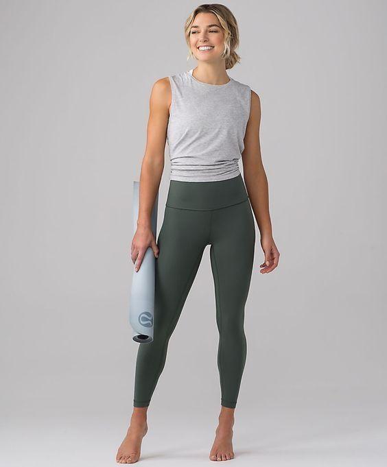 Spor yapmak İçin 24 Çarpıcı Yoga Giyimi 16