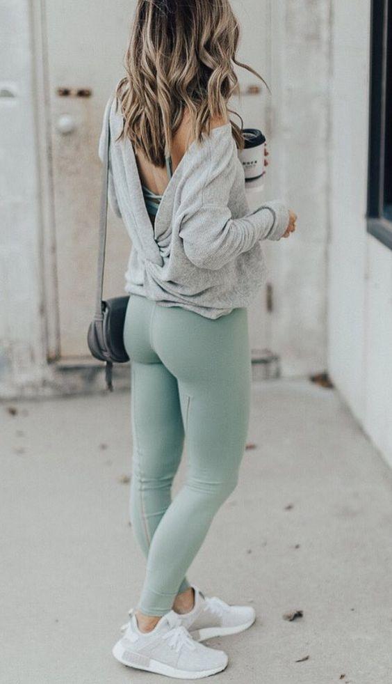 Spor yapmak İçin 24 Çarpıcı Yoga Giyimi 6