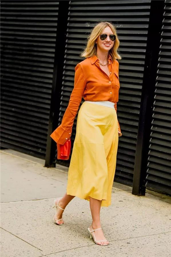 Trend 36 Sarı renk kombin Fikirleri 17