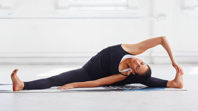 yoga atlet