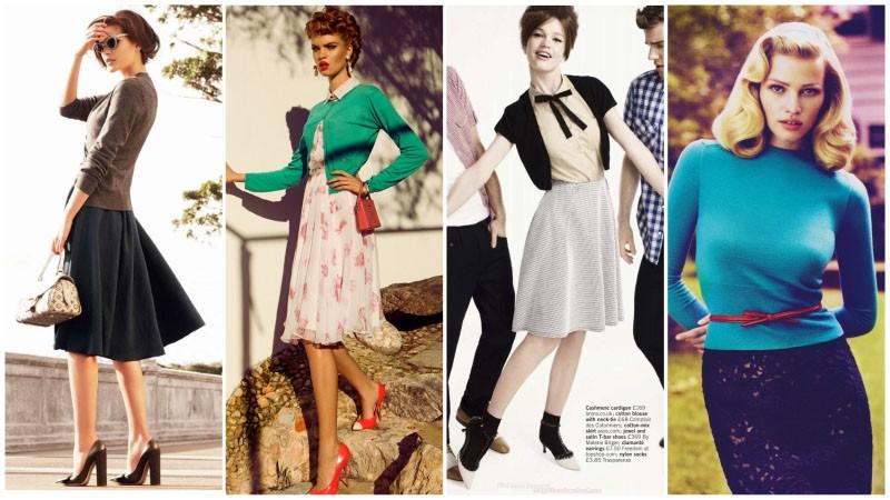50 ler kazak modası