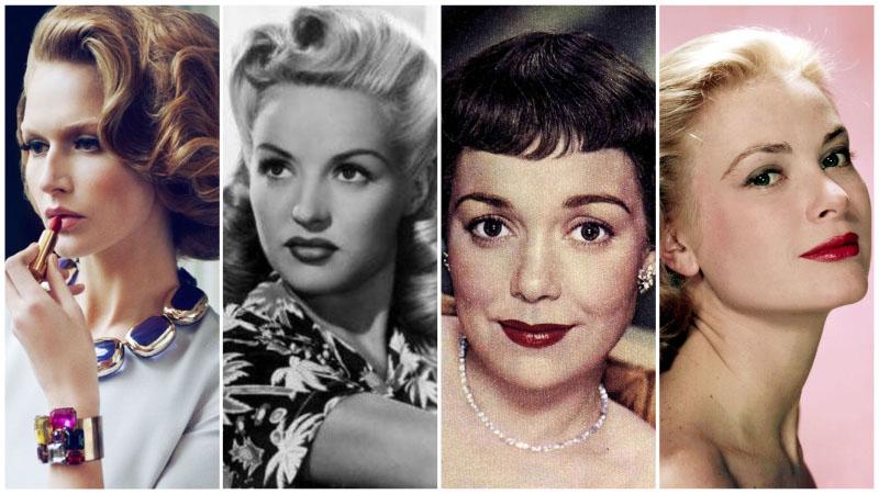 50 ler saç modası