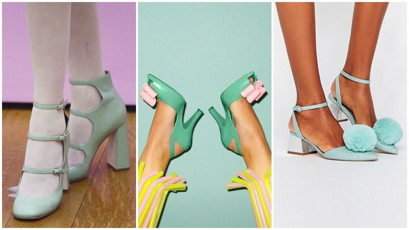 Nane Rengi Ayakkabı