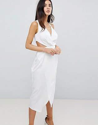 beyaz elbise kombini 2