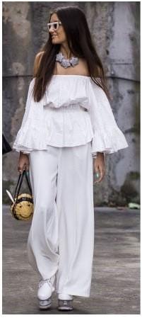 beyaz kıyafet kombin önerileri 19