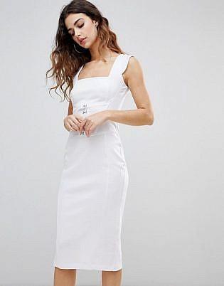 beyaz resmi kıyafet 2