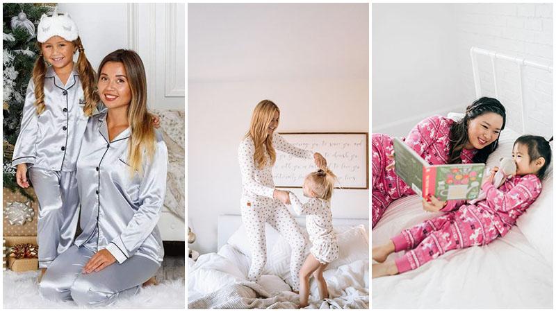 eşleşen pijama