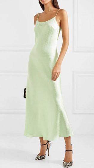 yeşil elbise 2