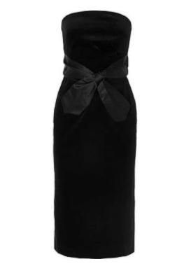 Düğün için Küçük Siyah Elbise 2