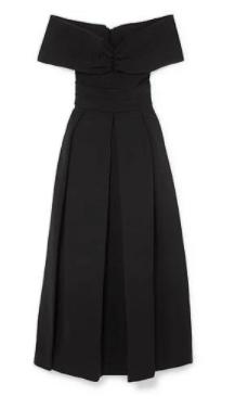 klasik siyah elbise modeli 1