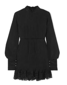 kollu siyah elbise 3