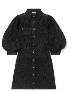 kollu siyah elbise 4