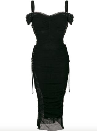 mini siyah elbise 1