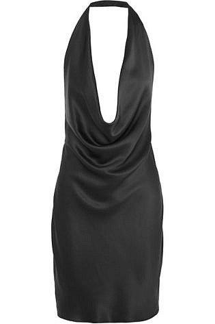mini siyah elbise 3